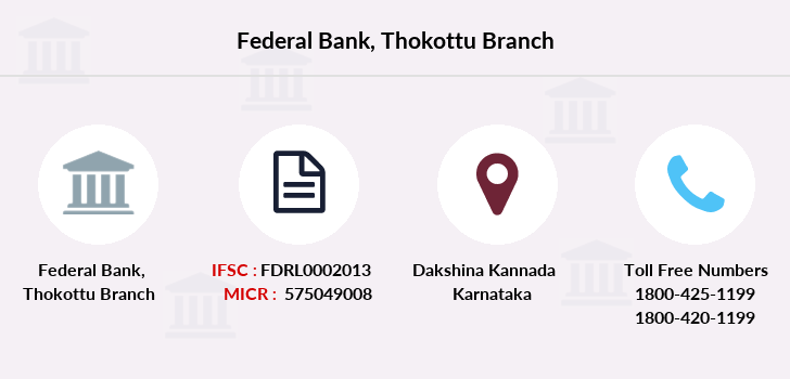 Federal-bank Thokottu branch