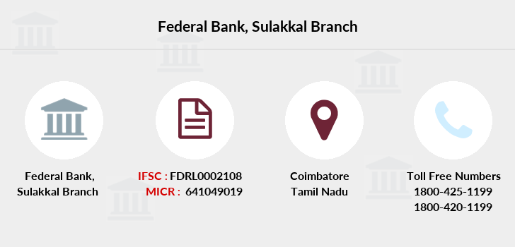 Federal-bank Sulakkal branch