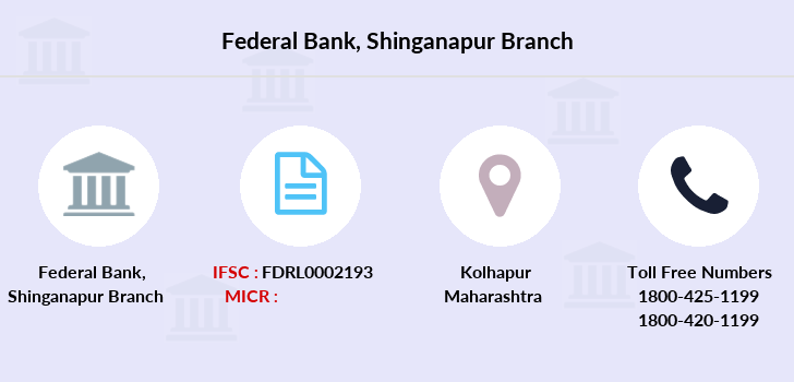 Federal-bank Shinganapur branch