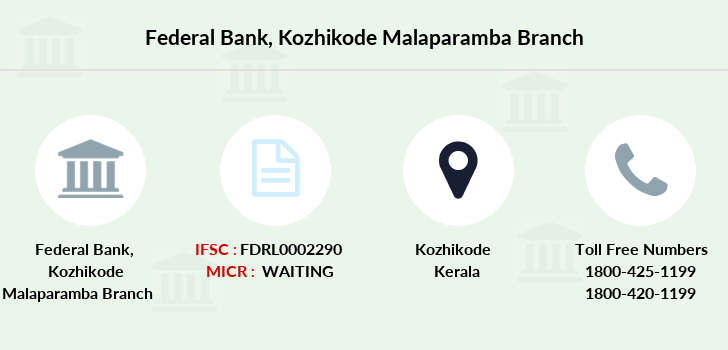 Federal-bank Kozhikode-malaparamba branch