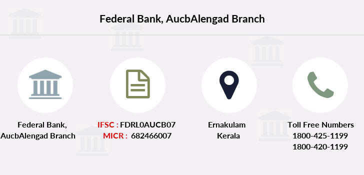 Federal-bank Aucbalengad branch