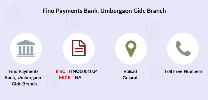 Fino-payments-bank Umbergaon-gidc branch
