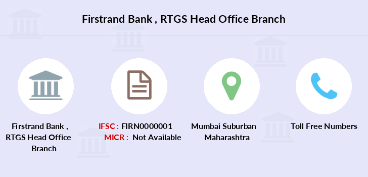 Firstrand-bank Rtgs-head-office branch