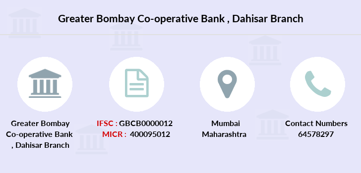 Greater-bombay-co-op-bank Dahisar branch