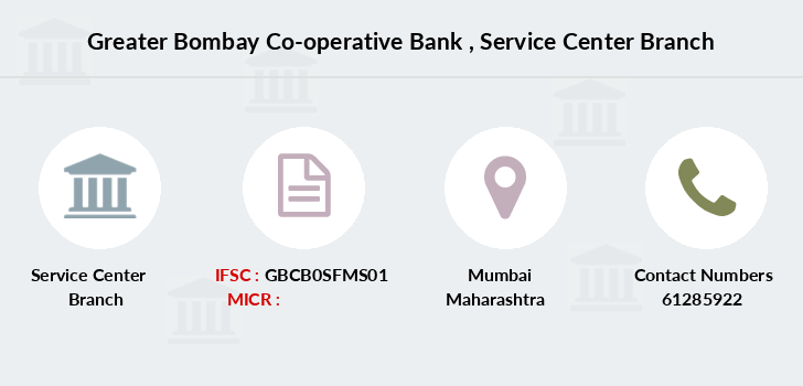 Greater-bombay-co-op-bank Service-center branch