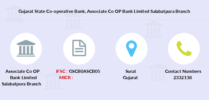 Gujarat-state-co-op-bank Associate-co-op-bank-limited-salabatpura branch