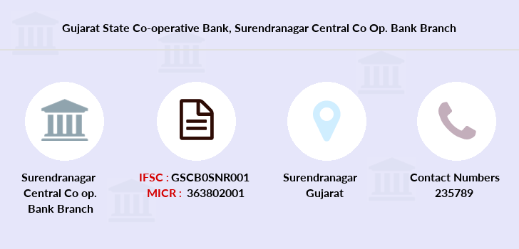 Gujarat-state-co-op-bank Surendranagar-central-co-op-bank branch