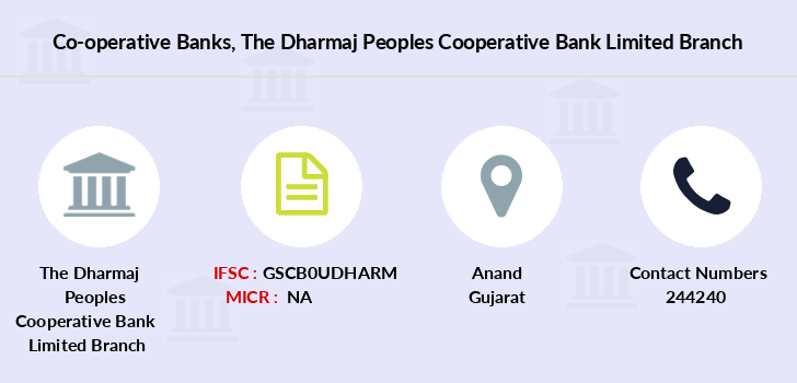 Co-operative-banks The-dharmaj-peoples-cooperative-bank-limited branch