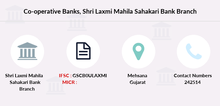 Co-operative-banks Shri-laxmi-mahila-sahakari-bank-limited branch