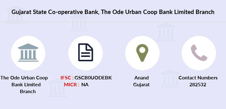 Gujarat-state-co-op-bank The-ode-urban-coop-bank-limited branch