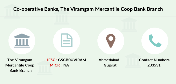 Co-operative-banks The-viramgam-mercantile-coop-bank-limited branch