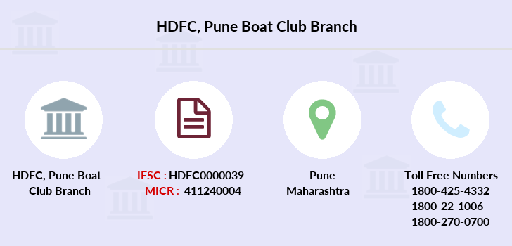 Hdfc-bank Pune-boat-club branch