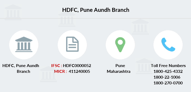 Hdfc-bank Pune-aundh branch