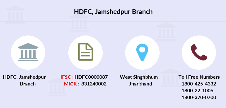 Hdfc-bank Jamshedpur branch