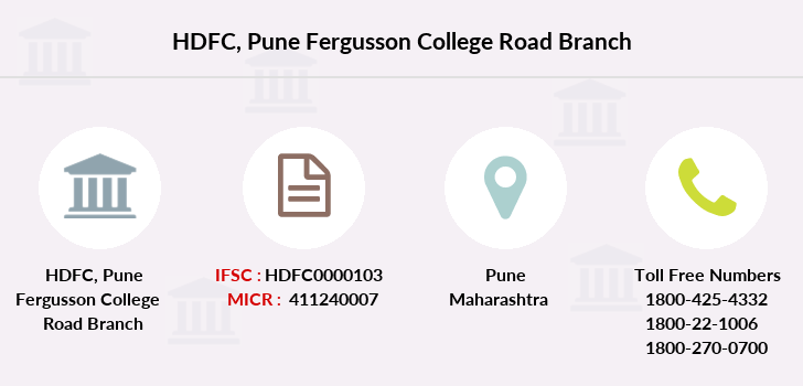 Hdfc-bank Pune-fergusson-college-road branch