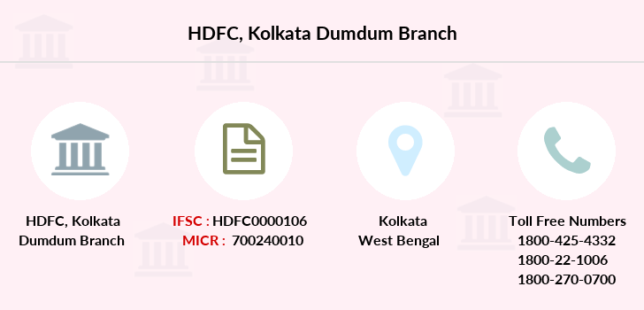 Hdfc-bank Kolkata-dumdum branch