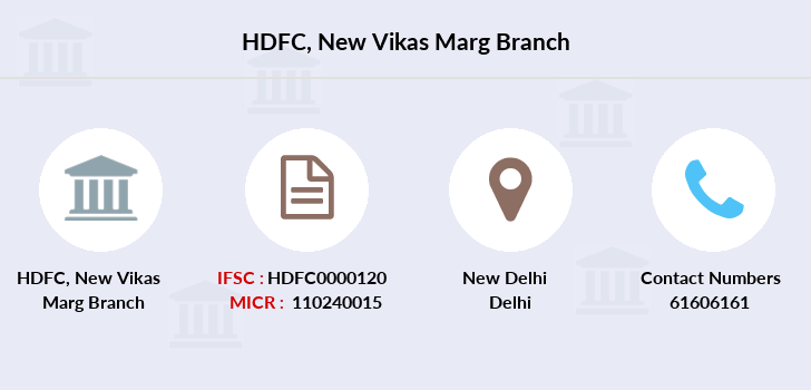 Hdfc-bank New-vikas-marg branch