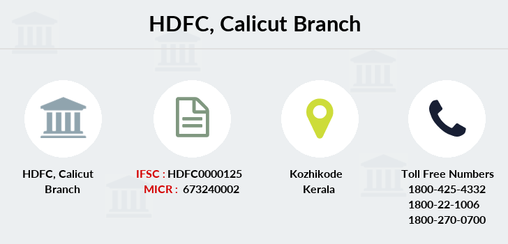 Hdfc-bank Calicut branch