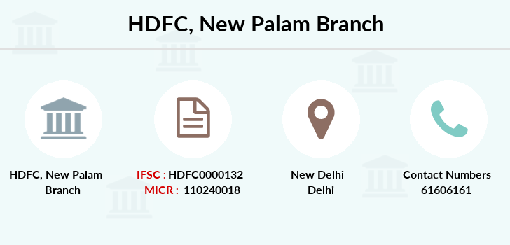 Hdfc-bank New-palam branch