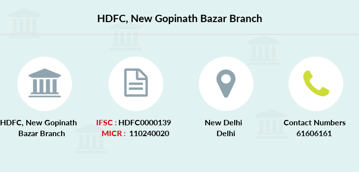 Hdfc-bank New-gopinath-bazar branch