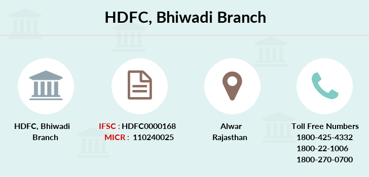Hdfc-bank Bhiwadi branch