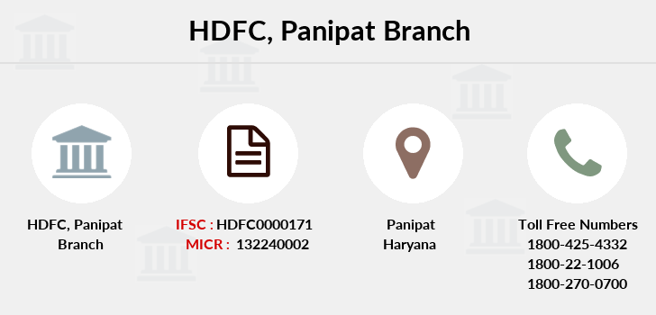 Hdfc-bank Panipat branch