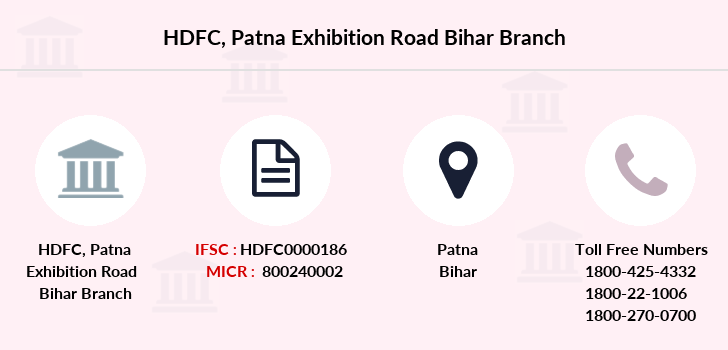 Hdfc-bank Patna-exhibition-road-bihar branch