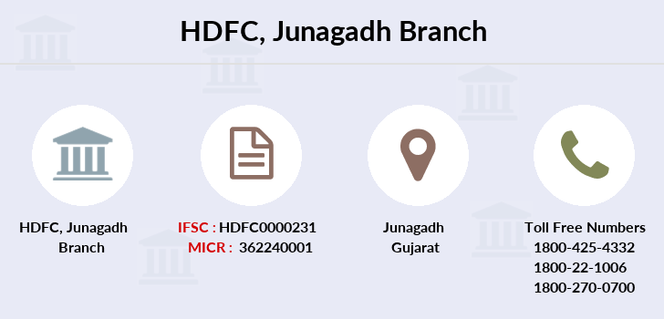 Hdfc-bank Junagadh branch