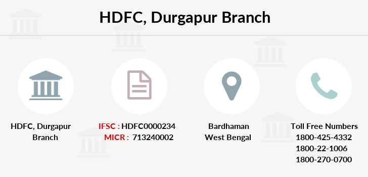 Hdfc-bank Durgapur branch