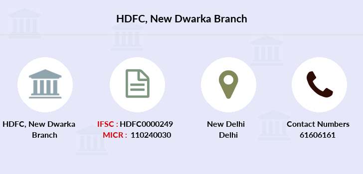 Hdfc-bank New-dwarka branch