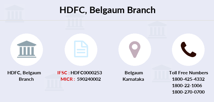 Hdfc-bank Belgaum branch