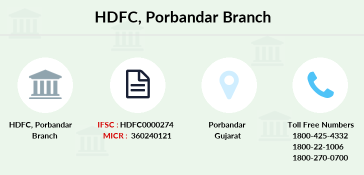 Hdfc-bank Porbandar branch