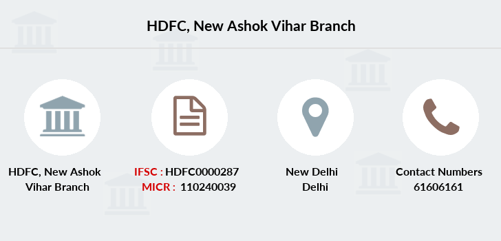 Hdfc-bank New-ashok-vihar branch