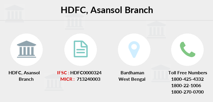 Hdfc-bank Asansol branch