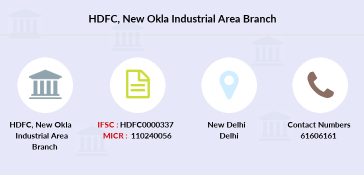 Hdfc-bank New-okla-industrial-area branch