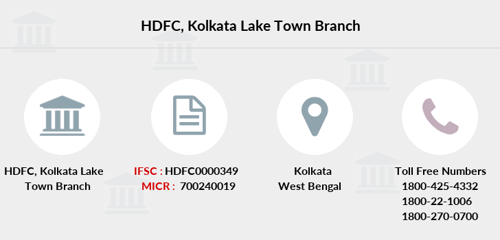 Hdfc-bank Kolkata-lake-town branch