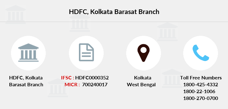 Hdfc-bank Kolkata-barasat branch