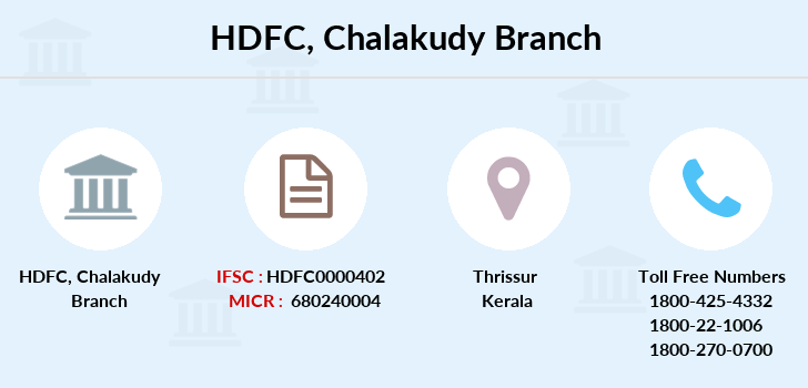 Hdfc-bank Chalakudy branch
