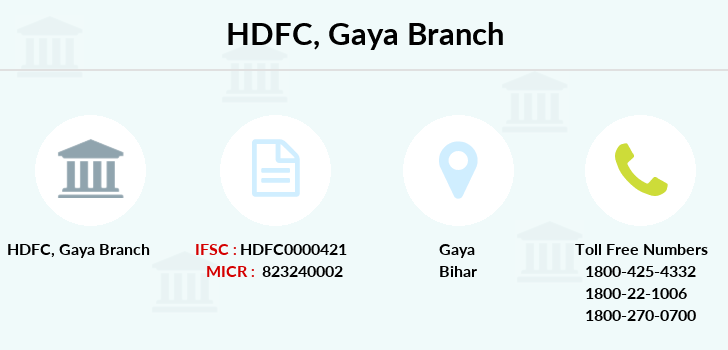 Hdfc-bank Gaya branch