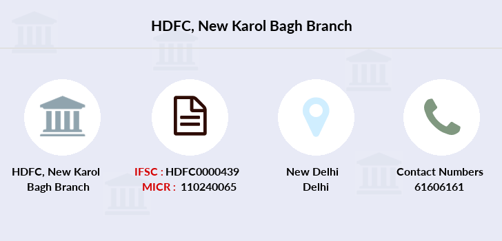 Hdfc-bank New-karol-bagh branch