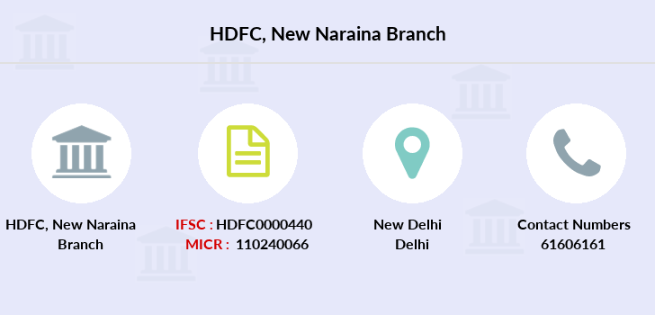 Hdfc-bank New-naraina branch