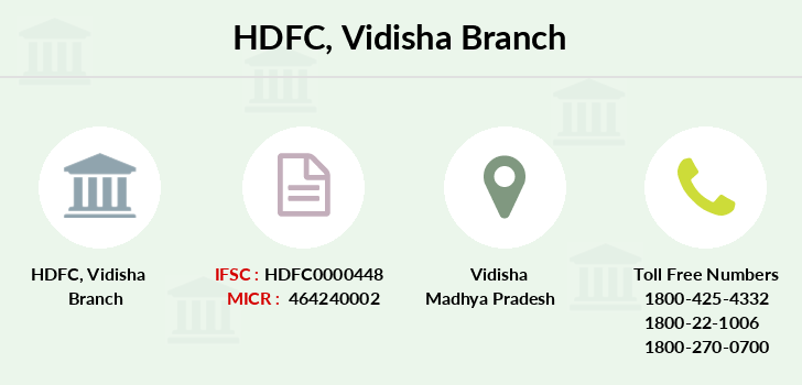 Hdfc-bank Vidisha branch