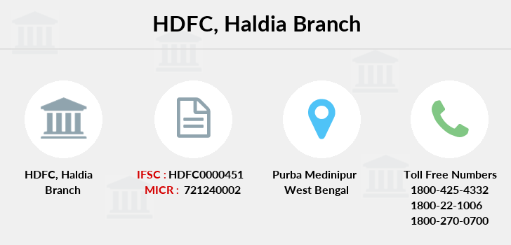 Hdfc-bank Haldia branch