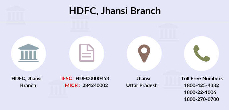 Hdfc-bank Jhansi branch