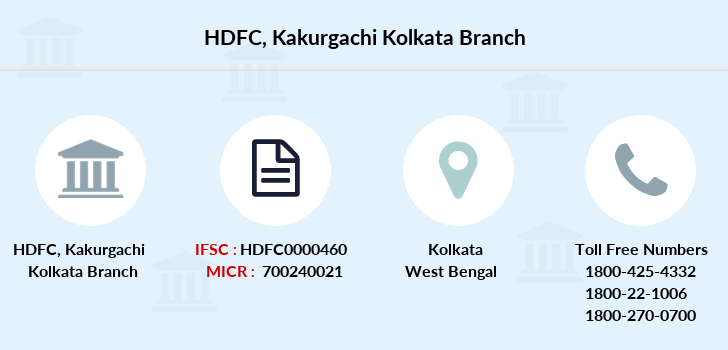 Hdfc-bank Kakurgachi-kolkata branch