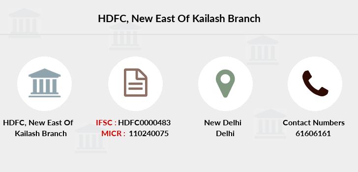 Hdfc-bank New-east-of-kailash branch