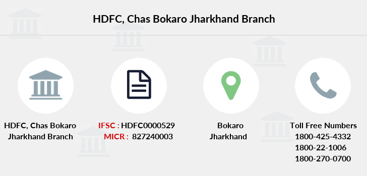 Hdfc-bank Chas-bokaro-jharkhand branch