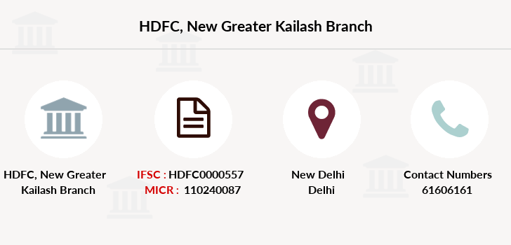 Hdfc-bank New-greater-kailash branch