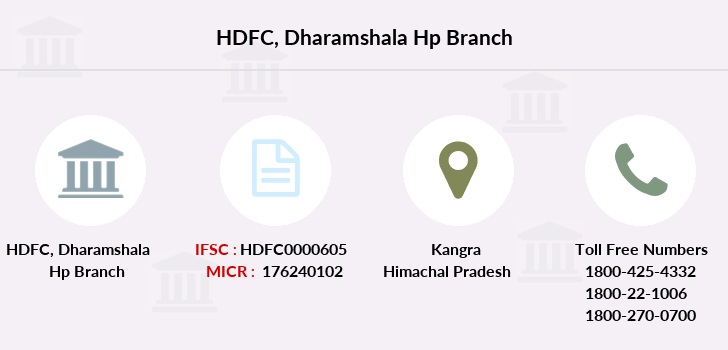 Hdfc-bank Dharamshala-hp branch