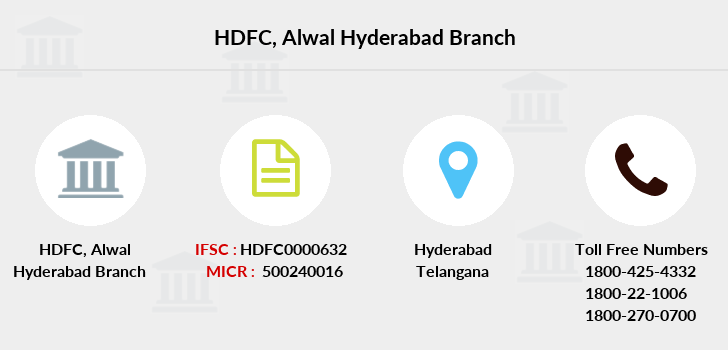 Hdfc-bank Alwal-hyderabad branch